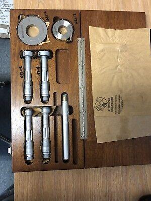 Brown Sharpe Tesa Metric Internal Bore Gage Set 20mm-40mm Range