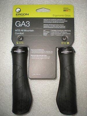 Ergon GA3 Gravity All Mountain Grips Black