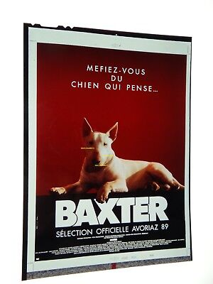 Baxter bull terrier ektachrome transparency original affiche presse  cinema