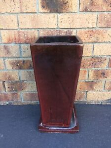 Glazed plant pot Helensvale Gold Coast North Preview