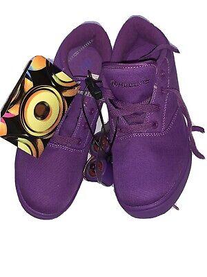 Heelys Big Kids Launch Skate Shoe  Style 770873 Size Youth 6 / Women's 7 Purple