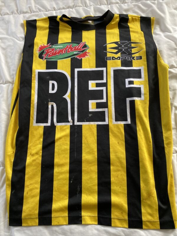 Empire Ref Paintball Jersey Shirt Large Fast Shipping!