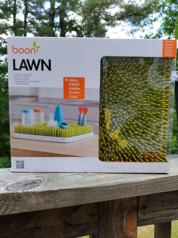 Boon Lawn Countertop Drying Rack - Green