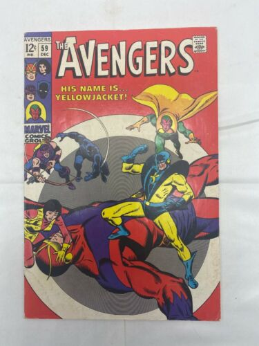 Silver Age Avengers #59 First appearance of Yellow Jacket
