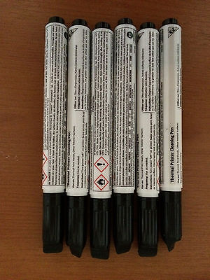 Thermal Printer Cleaning Pen (Clean Thermal Printheads) Box of 12-New & Unused