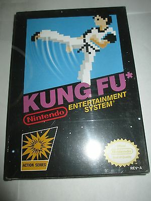 Kung Fu (Nintendo Entertainment System NES, 1985) NEW Works Sealed