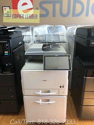 Ricoh Aficio Mp C306 Spf -color Copier Printer Scanner Fax Low Meter Laser Mfp