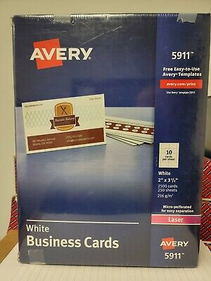 Avery Business Cards 5911