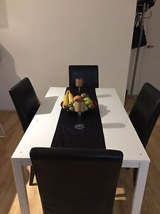 4 Seater Dining Table Set Beverley Park Kogarah Area Preview