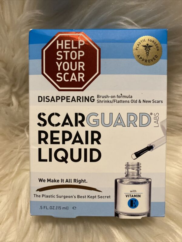 Scarguard Repair Liquid with Vitamin E 0.5 oz, Exp-09/2022, #1008