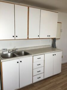 Newly renovated one bedroom + den upstairs apartment for rent