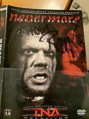 TNA Wrestling - Never More: The Best of Raven DVD Autographed By (Nevermore The Best Of Raven)
