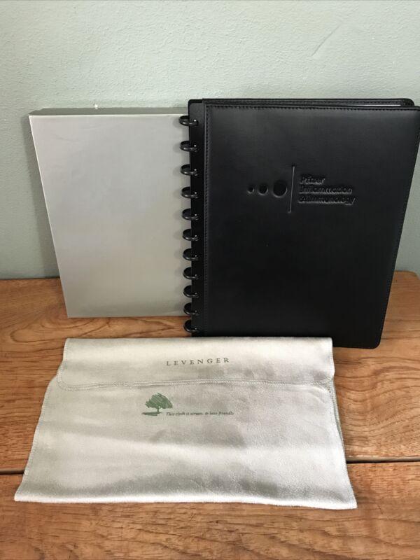 Levenger Circa Notebook w/ custom Pfizer Inflammation & Immunology insignia
