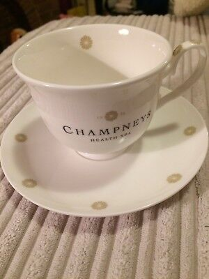 CHAMPNEYS HEALTH SPA   CUP & SAUCER