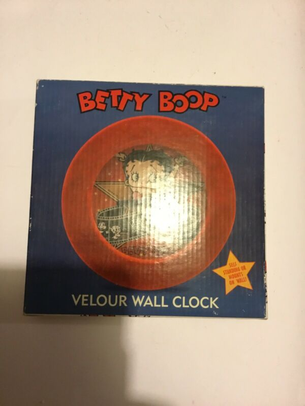 Van Dor Betty Boop Battery Operated Clock New
