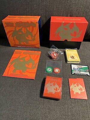 Pokemon XY12 Evolutions Elite Trainer Box Charizard Open No Booster Packs