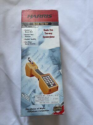 Harris Ts22a Telephone Speakerphone Test Set New