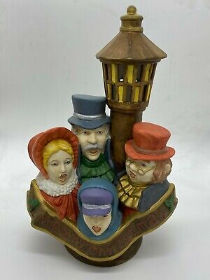 CHRISTMAS CAROLERS & LAMP POST Light Up cord with on/off switch