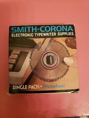 Smith Corona Electronic Typewriter Single Pack Printwheel 946 Script New Old Sto