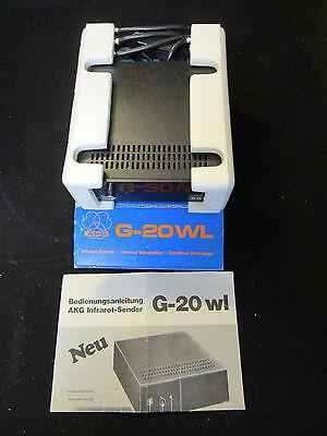 AKG G-20WL Infrarotsender für Kopfhörer NOS in OVP um 1980?