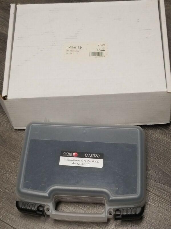 Cal Test CT3378 Instrument Grade BNC Adapter Kit Rosenberger Connectors  C PICS