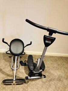 Cardio twister and ab workout equipment