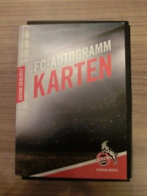 1. FC Köln - 2016/2017 - 30x Autogrammkarten - original signiert