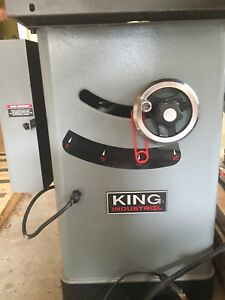 King industrial cabinet saw