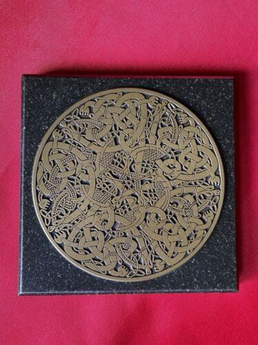 "Celtic Circle 5""x5"" Panel Book of Kells Design Canterbury Studio Brian Jeffcoat"