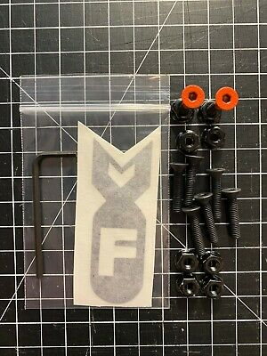 F-Bomb Skate 1″ Hex Head Skateboard Truck Hardware W/ Allen Wrench – Orange