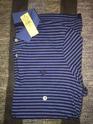 New Men's American Eagle Polo Shirt, Classic Fit, Size Medium