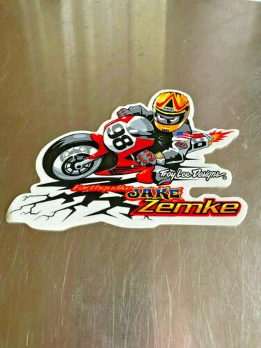 Troy Lee Designs Earthquake Jame Zemke Decal Sticker TLD