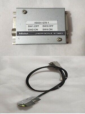 Mitutoyo Linear Scale St320 09aaa790 With Connection Cable