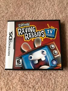 Rayman Raving Rabbids TV party for Nintendo DS