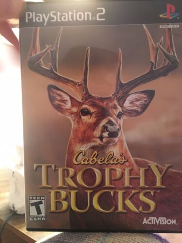 Cabela s Trophy Bucks For PS2 With Original Case And Manual - $3.24