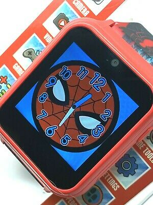 Spider-Man Interactive Kids Smart Watch iTime 41mm Marvel Comics Games Camera