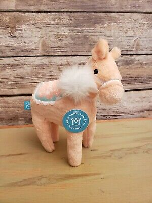 Manhattan Toy Company Dala Horse Plush Peach Stuffed Animal Toy - 10