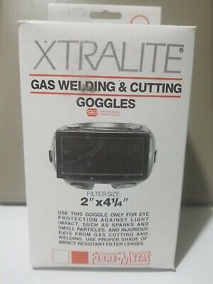 Xtralite Gas Welding Cutting Goggles Level 5 2x2.25