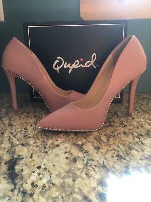 qupid shoes size 8 Desert Rose Pumps