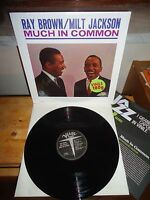 Ray Brown / Milt Jackson ‎,much In Common, Lp Verve/de Agostini Ita 2014 Insert -  - ebay.it