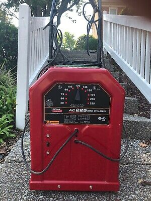 Lincoln Electric Ac-225 Arc Welder K1170 And Pictured Dolly