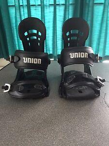 Union DLX  Snowboard Bindings