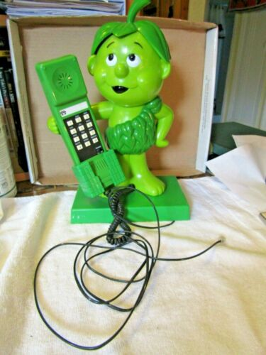 1984 Telephone Little Sprout Jolly Green Giant  Pillsbury no dial tone