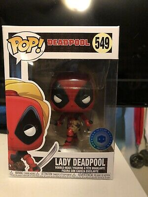 Lady Deadpool Funko Pop Exclusive  #549