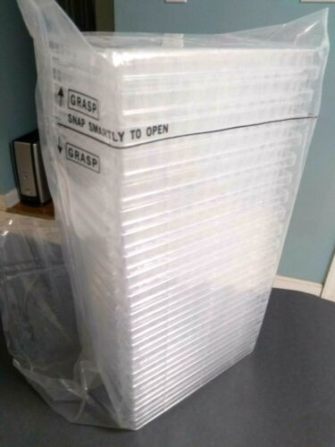Corning 3695 Clear Round 96-Well Flat Bottom Microplate PS Nonsterile 20/Open Pk
