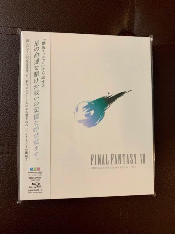 Final Fantasy VII 7 Original Soundtrack Revival Disc(Blu-ray Disc Music)