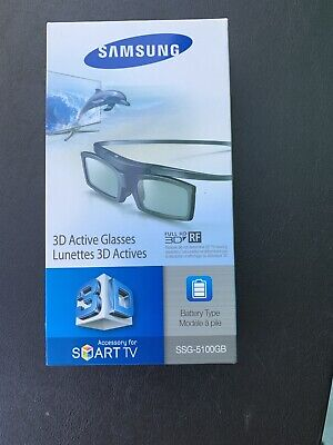 New Samsung 3D TV Active Glasses SSG-5100GB sealed