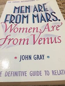 Men are from mars women are from Venus Wynn Vale Tea Tree Gully Area Preview