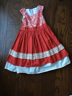 Plum Girls Dress (Girls Cheeky Plum Holiday/ Christmas Dress Size)