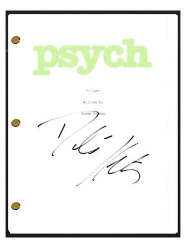 Dule Hill Signed Autographed PSYCH Pilot Episode Script COA